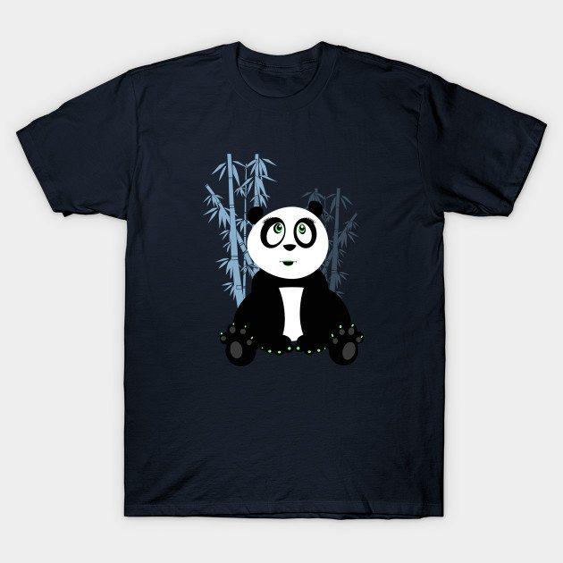 Panda Girl – Blue T-Shirt