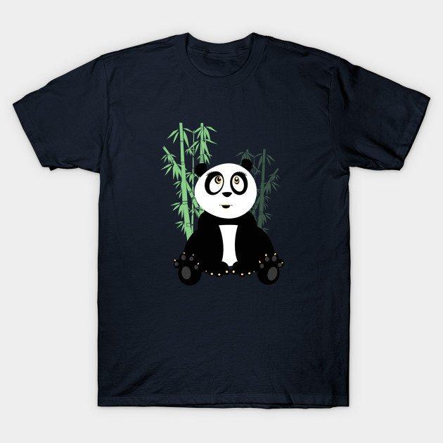 Panda Girl – Green T-Shirt