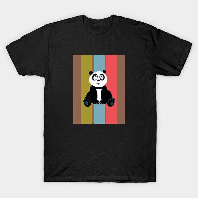 Panda Retro 2 T-Shirt