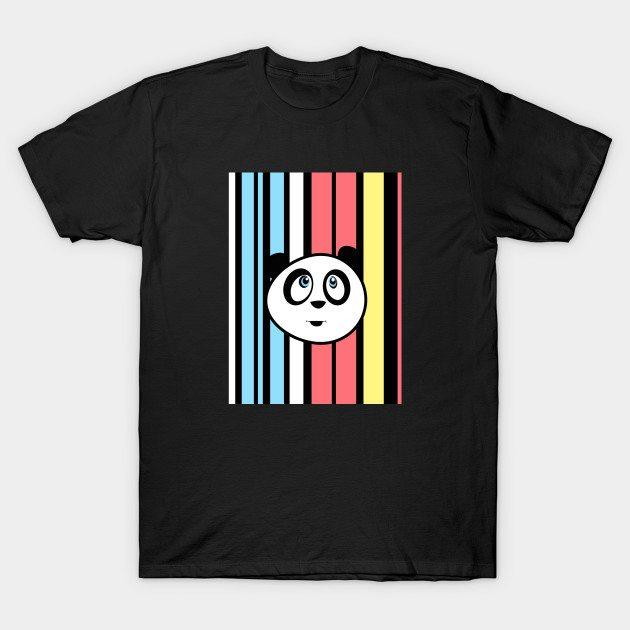 Panda Retro T-Shirt