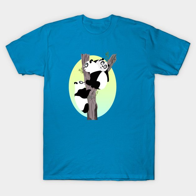 Pandas in a tree T-Shirt