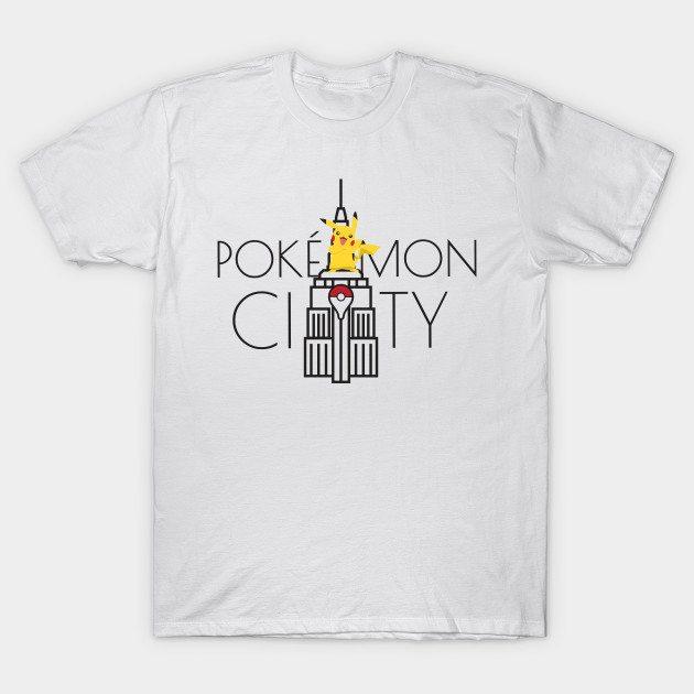 Pokémon City by PokeGO T-Shirt