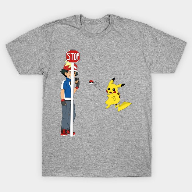 Pokémon Go in Reverse! T-Shirt