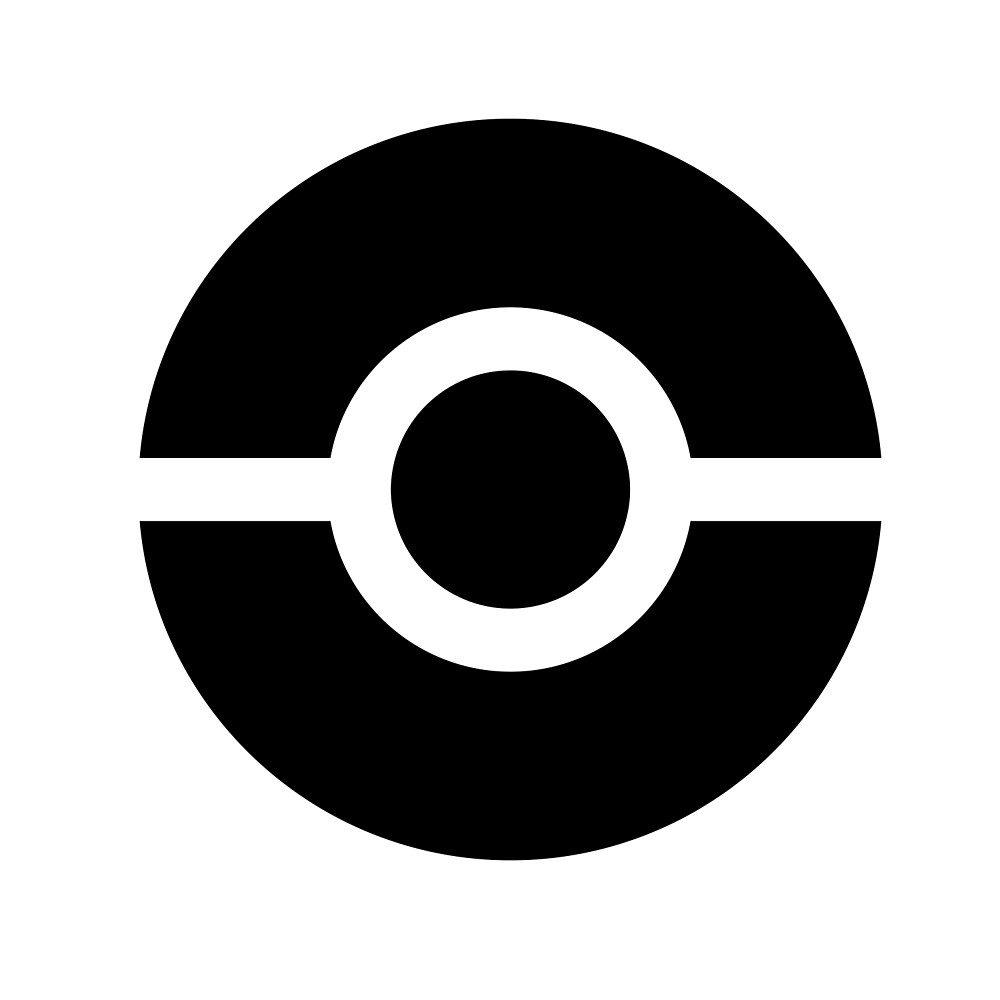 Pokémon GO Pokéball Symbol by PokeGO