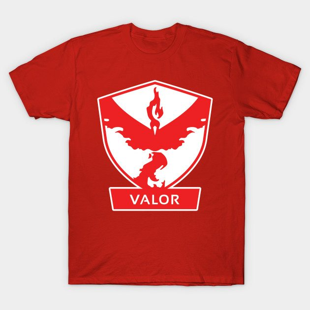 Pokémon GO Team Valor by PokeGO T-Shirt