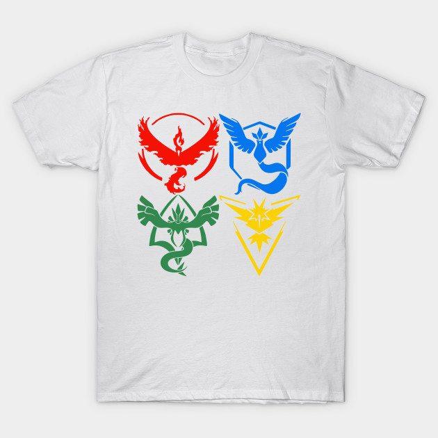 Pokemon Team T-Shirt
