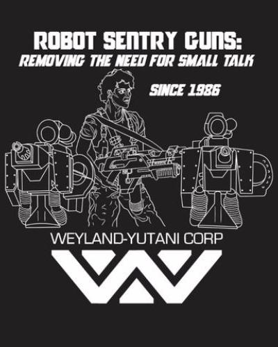Robot Sentry Gun Shirt (Ladies)