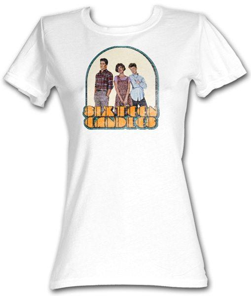 Sixteen Candles Movie Poster Juniors T-Shirt