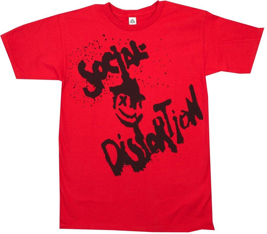 Social Distortion Happy Face T-Shirt
