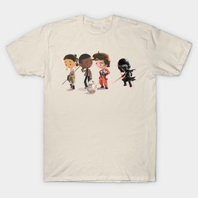 Space Pals (and Facehat Guy) T-Shirt