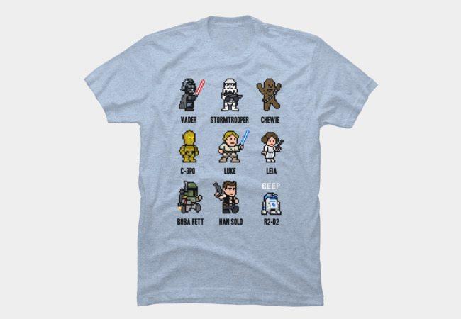 Star Wars Pixels