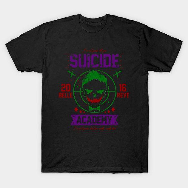 Suicide Academy Joker T-Shirt