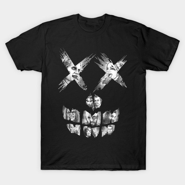 Suicide Skull (all team) T-Shirt