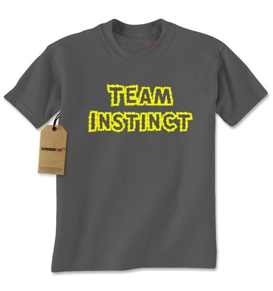 Team Instinct – Represent Your GO Faction Mens T-shirt