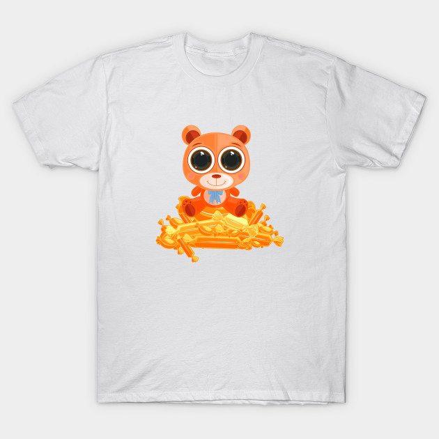 Teddy Bear – Candy Orange T-Shirt