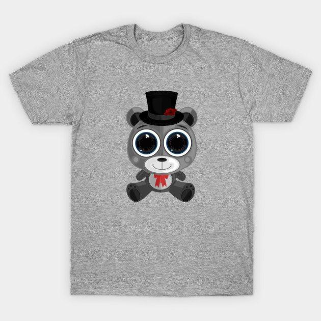 Teddy Bear – Classy Grey T-Shirt