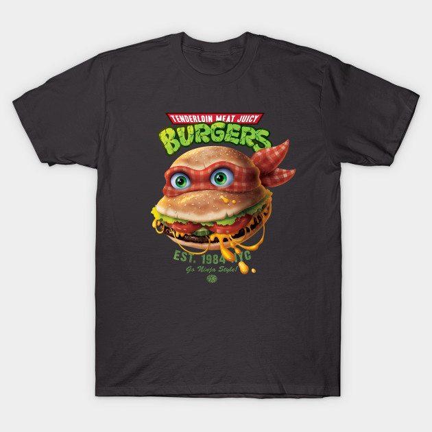 Tenderloin Meat Juicy Burgers T-Shirt