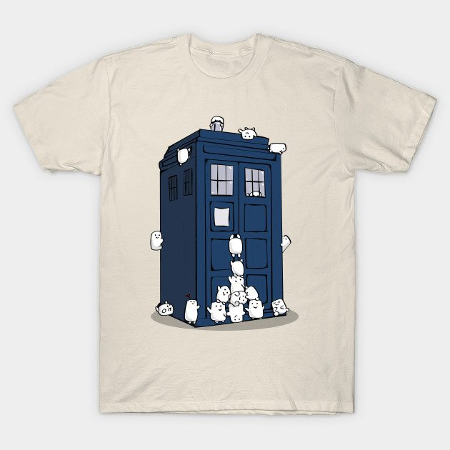 The Adipose Have the Phone Box T-Shirt