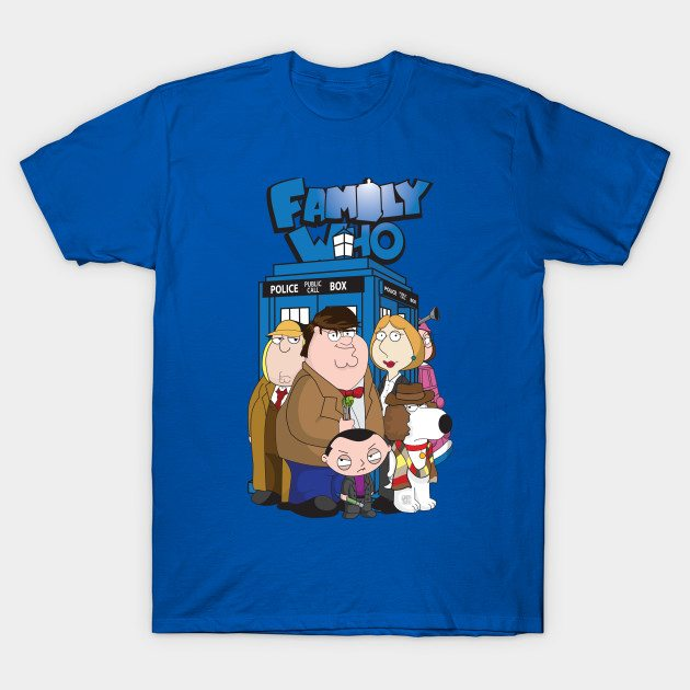 The Family Who T-Shirt