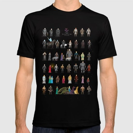 The pixel game of thrones