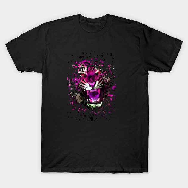 Tiger Roar (Pink) T-Shirt