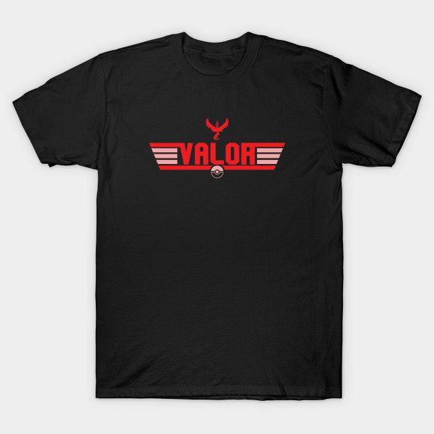Top Gun Team Valor (Color) T-Shirt