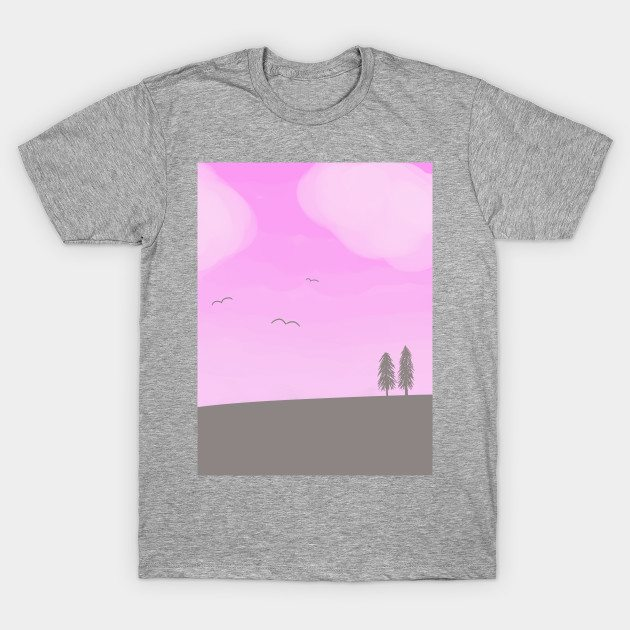 World Painted Pink T-Shirt
