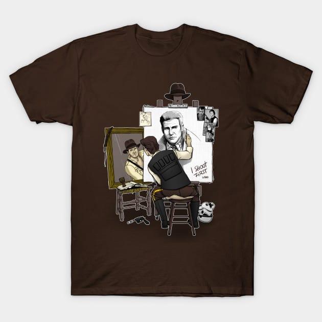 A Hero SelfPortrait T-Shirt