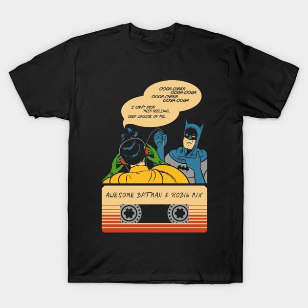 Awesome Batman & Robin Mix T-Shirt