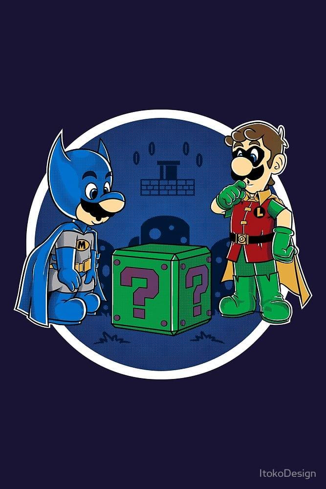 BatMario VS Riddler