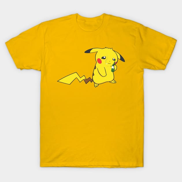 Battle-hardened Pikachu