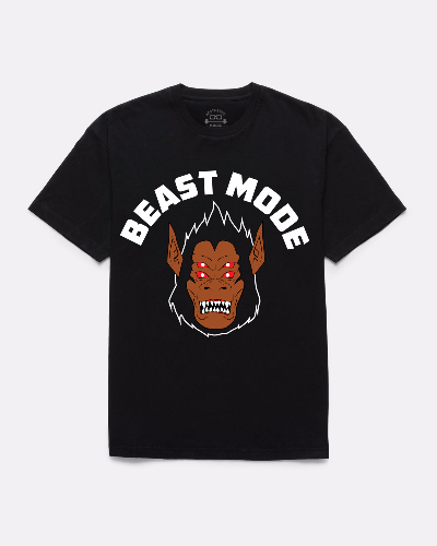 Beast Mode T-shirt (Black)