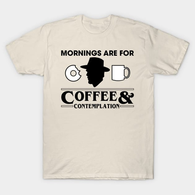Coffee and Contemplation T-Shirt