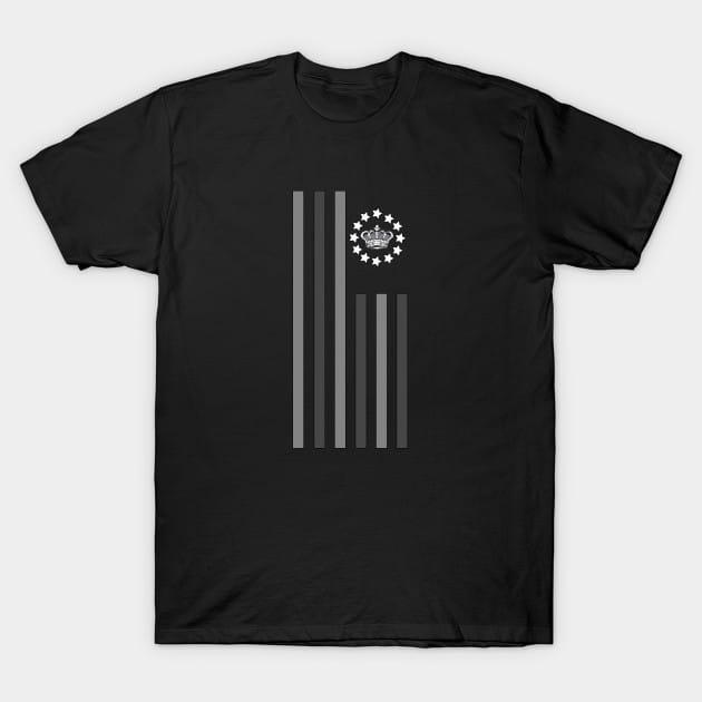 Crown Grey – Flag T-Shirt