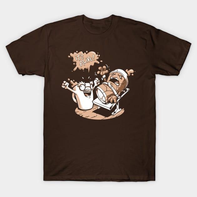 Dr. Caffeinstein's Monster T-Shirt