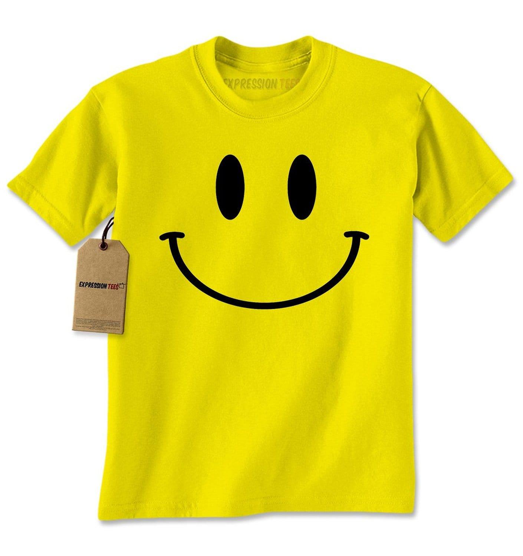 Expression Tees Big Smiley Face Mens