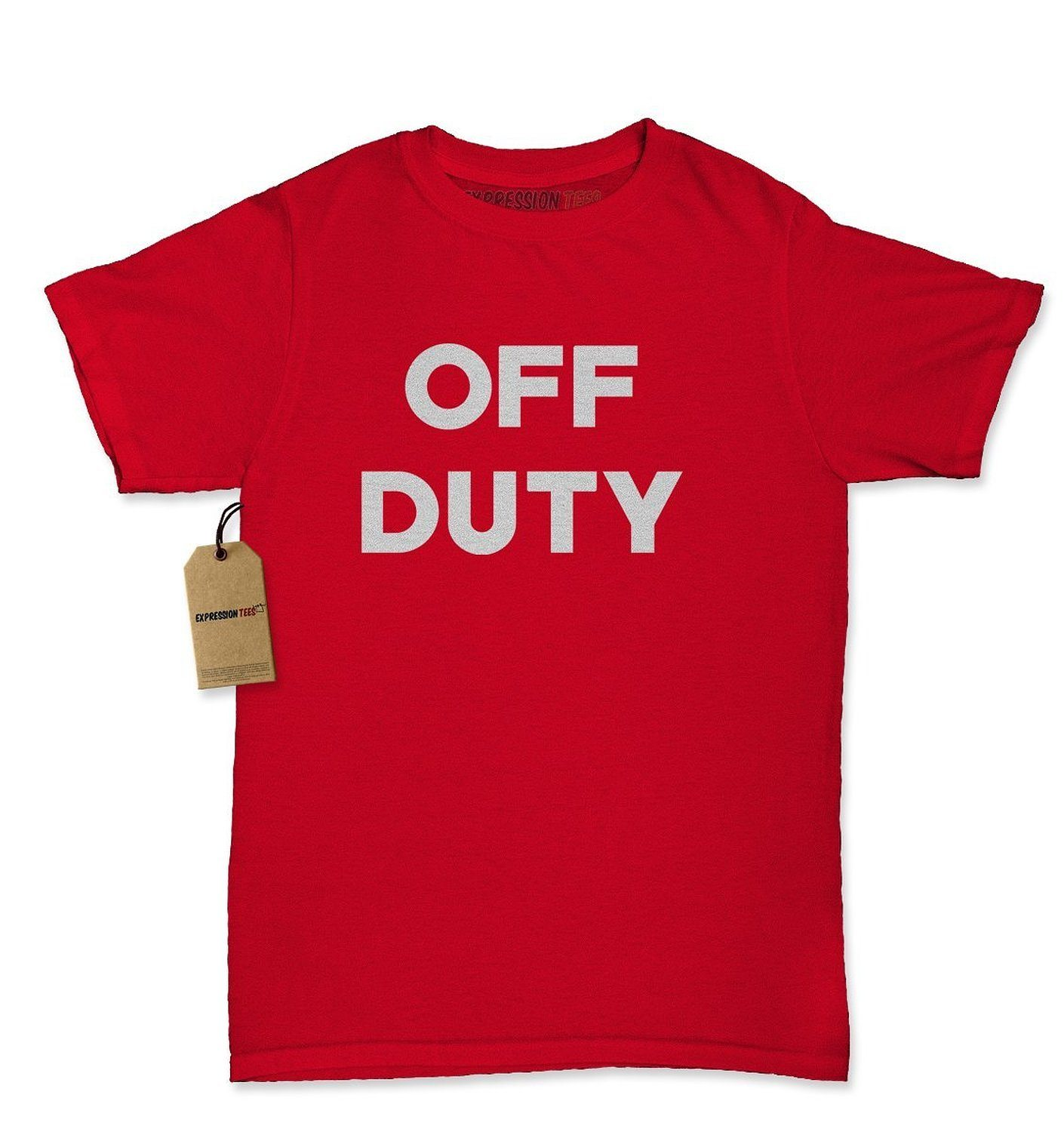Expression Tees Off Duty Womens