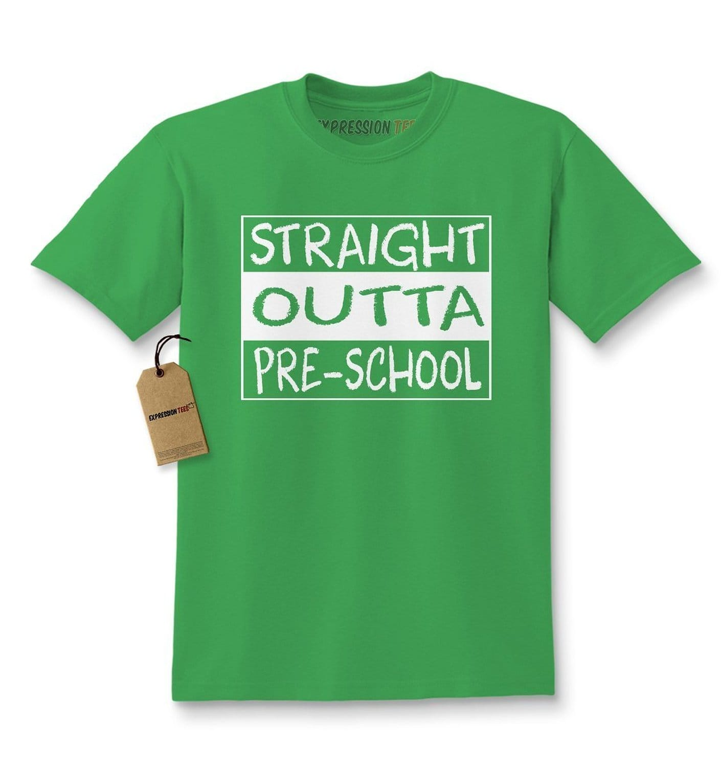 Expression Tees Straight Outta Pre-School Kids