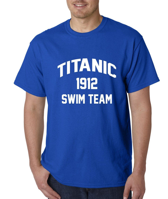 Expression Tees Titanic Swim Team 1912 Mens