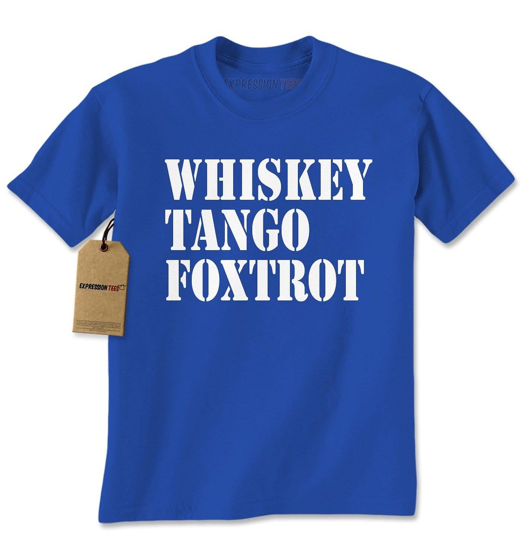Expression Tees Whiskey Tango Foxtrot WTF Mens