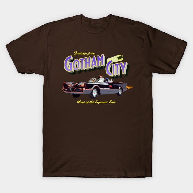 Greetings from Gotham City T-Shirt