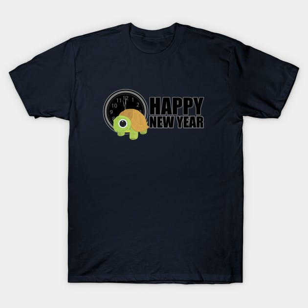 Happy New Year – Turtle T-Shirt