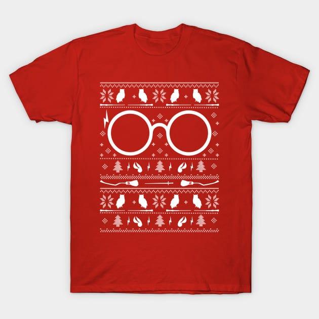 Harry Potter Christmas Knit T-Shirt