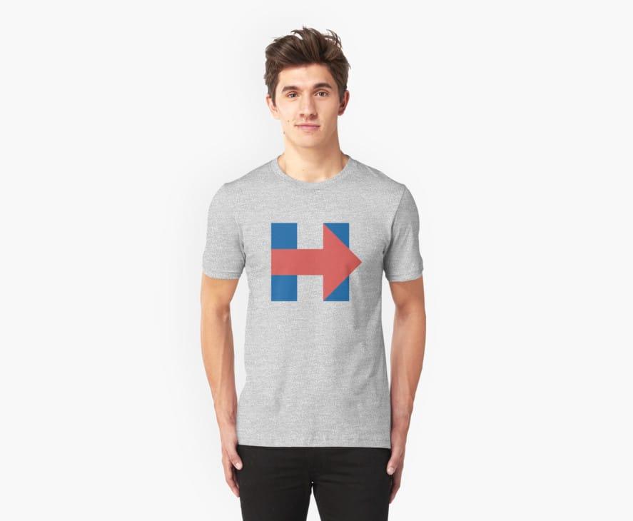 Hillary Clinton Distressed Campaign Logo
