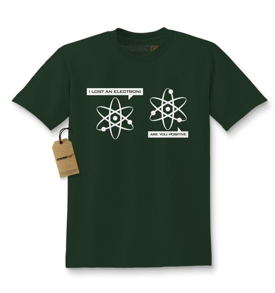 I Lost An Electron Funny Physics Kids T-shirt