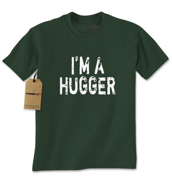 I'm A Hugger Wrestling Mens T-shirt