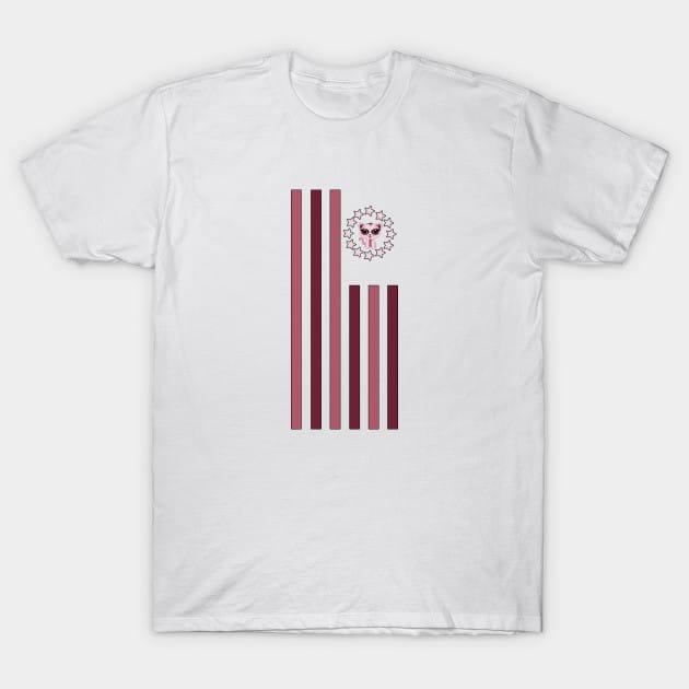 Kitten – Flag T-Shirt
