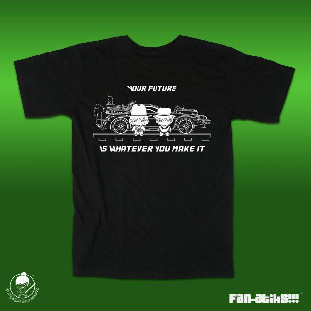LIMITED EDITION FAN-atiks: Future White Unisex Shirt