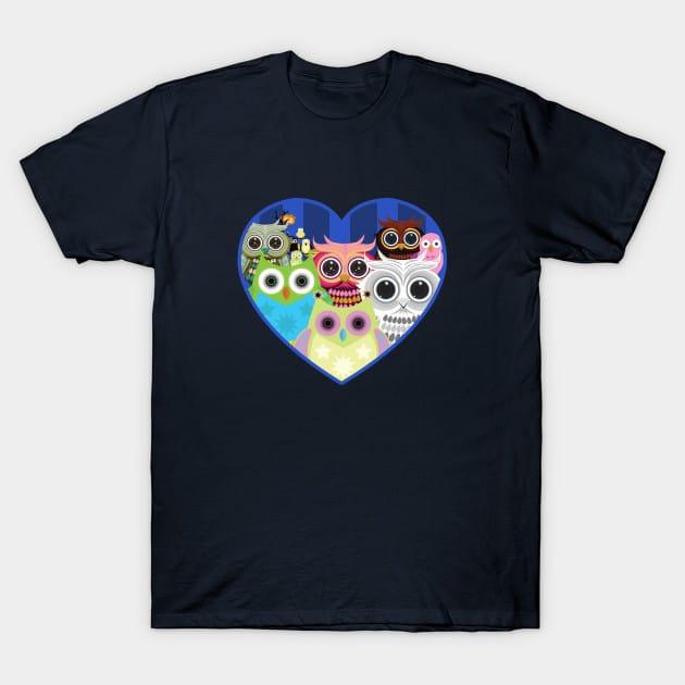 Love Owls 2 T-Shirt