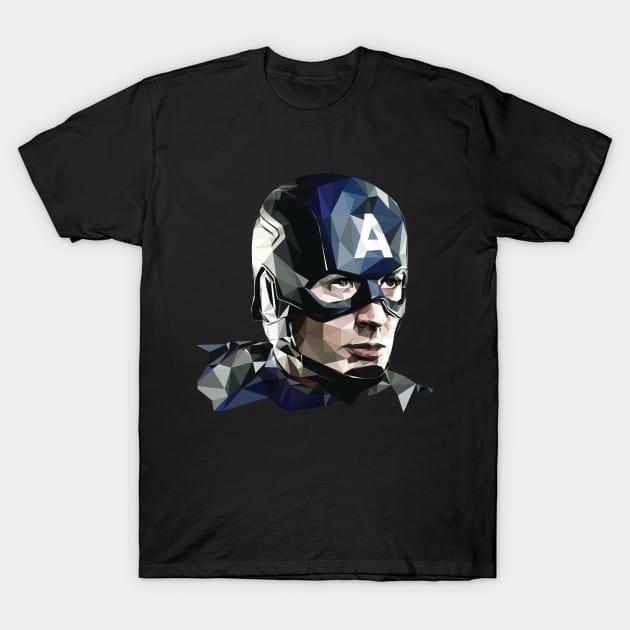 Lowpoly Captain T-Shirt